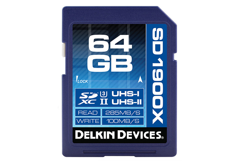 Delkin Devices Best SDXC 64GB 1900X UHS III Class 3