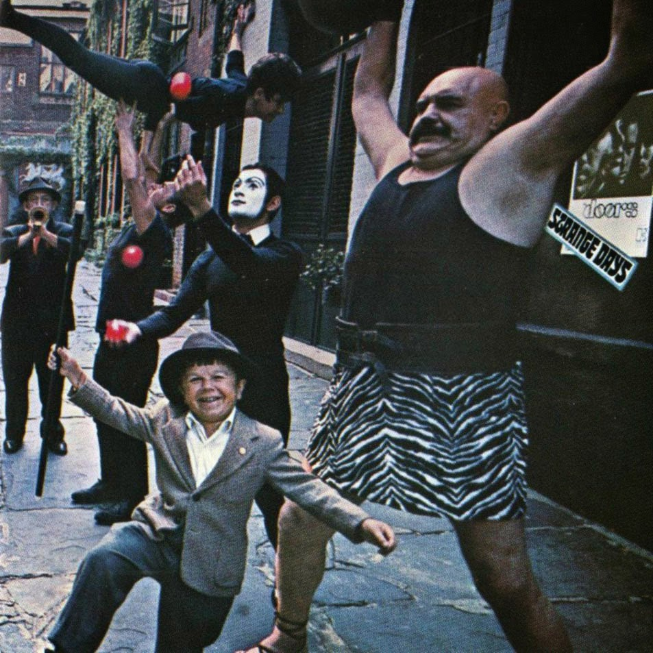 The Doors Strange Days Frontal