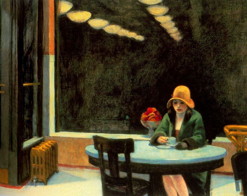 Automat edward hopper