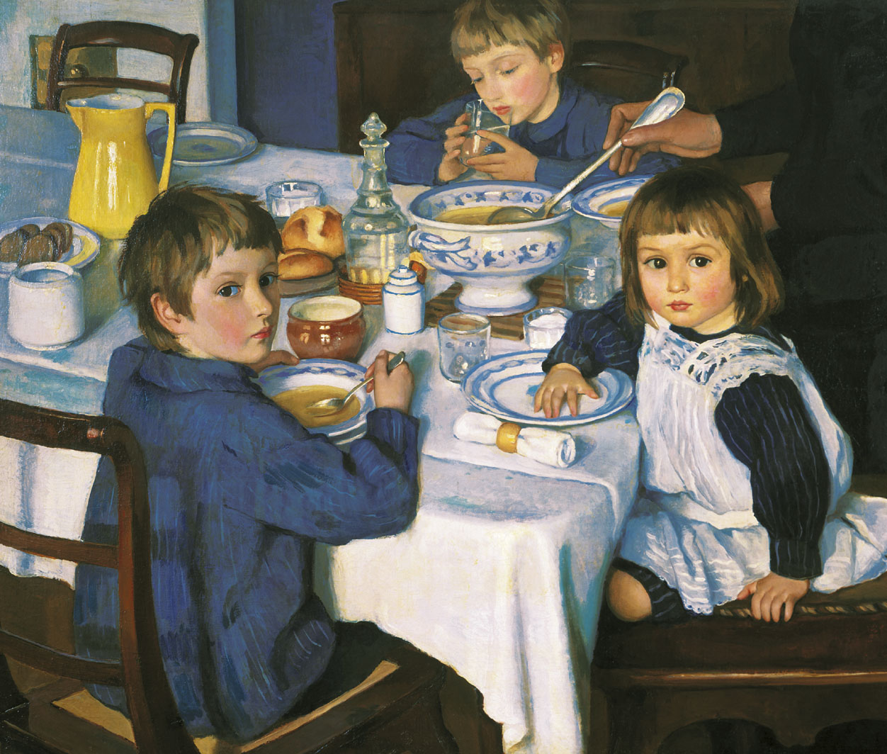 Zinaida Serebryakova 1914 At Breakfast