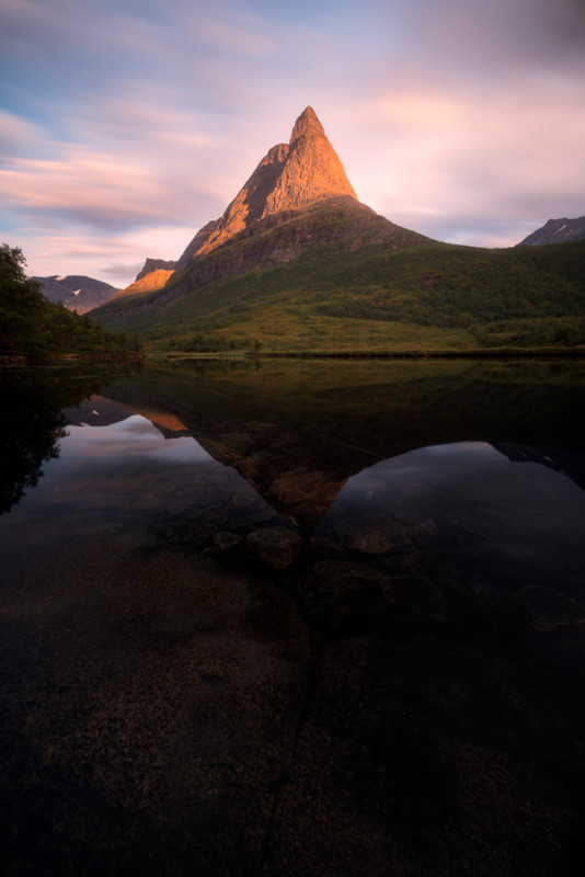 Norway Innerdalen Sunset 534x800